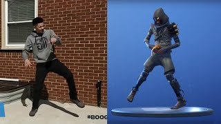 *NEW* FANCY FEET EMOTE IN REAL LIFE ! Fortnite Battle Royale