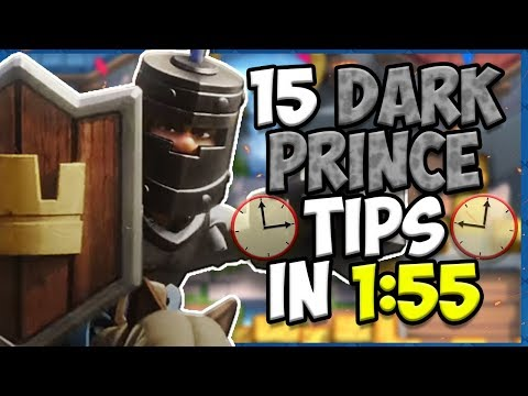 15 QUICK Tips About: Dark Prince🛡️- Clash Royale