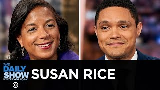 """Susan Rice - """"Tough Love,"""" Life in the Obama White House & The Trump Era   The Daily Show"""