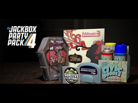 где скачать The Jackbox Party Pack 4 - YouTube
