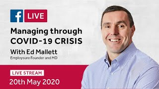 Managing Through COVID-19 Crisis 20/05/20: Lifting restrictions and returning to work