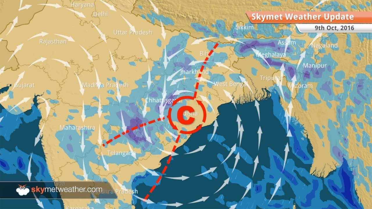 Weather Map Report.Weather Forecast For Oct 9 Rain In Kolkata To Hinder Durga Puja