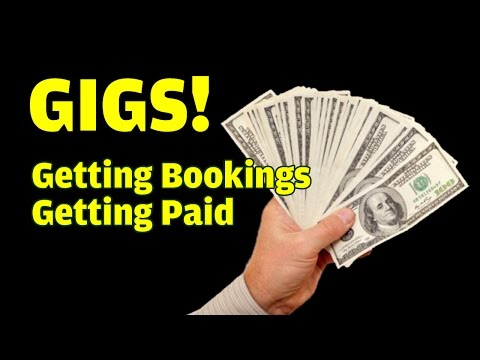 HOW TO BOOK YOUR BAND - Gig Secrets - Singing Lessons /  - Rock the Stage NYC
