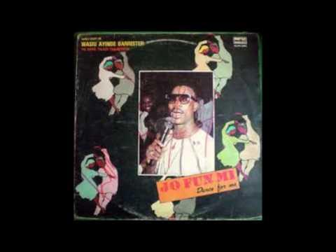 WASIU AYINDE BARRISTER DANCE FOR ME(JO FUNMI)COMPLETE ALBUM 1990