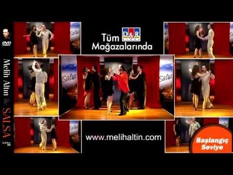 Türkiye de ilk Salsa DVD video dans eğitimi - MELiH ALTIN
