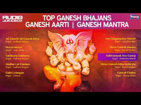 Top 10  Ganesh Songs - Aarti  - Bhajan - Ganesh Mantra -  Ganesh Chaturthi  Special 2016
