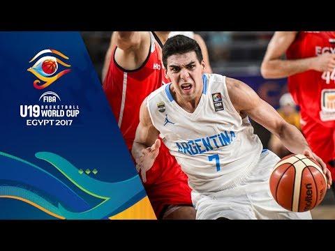 Argentina v Egypt - Highlights - Round of 16 - FIBA U19 Basketball World Cup 2017