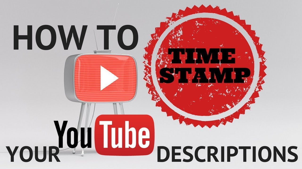 How to add timecode to your video descriptions