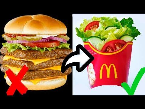 Testing Healthy Food at Fast Food Restaurants
