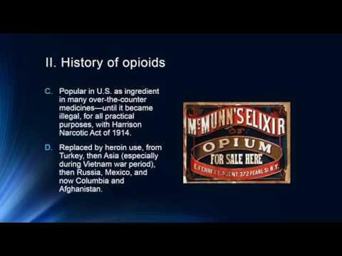 Opioid Analgesics Proper Pain Managment, Prescription Drug Abuse and Alternatives