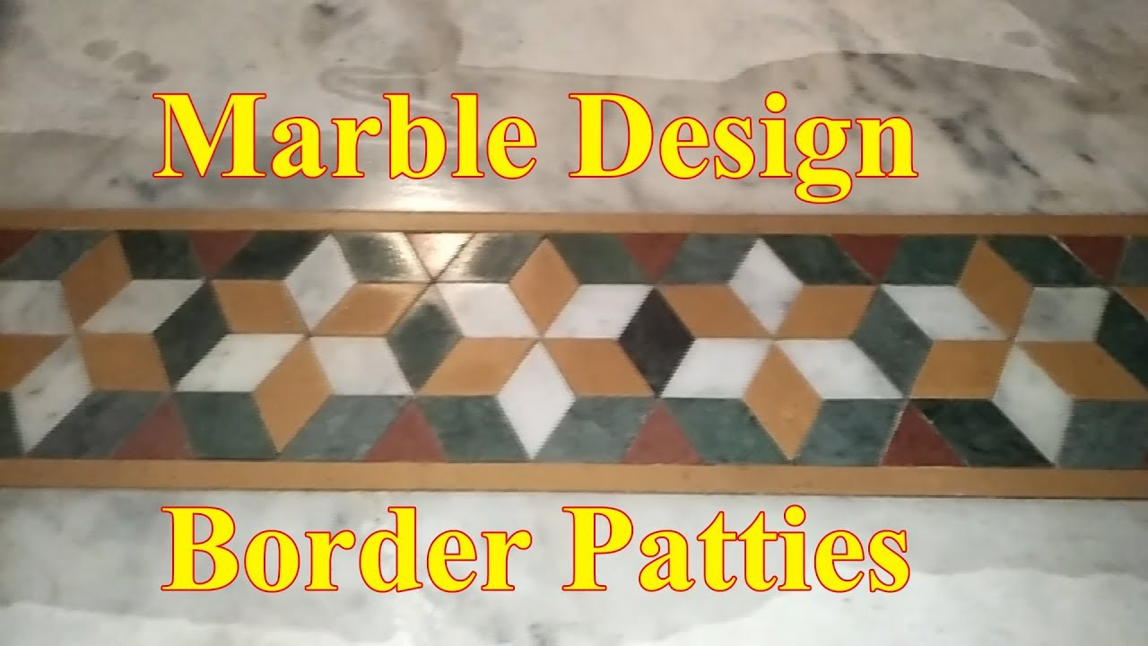 Marble Design Border Patti
