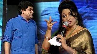 Udaya Bhanu Satire on Comedian Ali @ S/O Satyamurthy Audio Success Meet