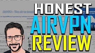 airVPN REVIEW - FIRST TIER ONE VPN?