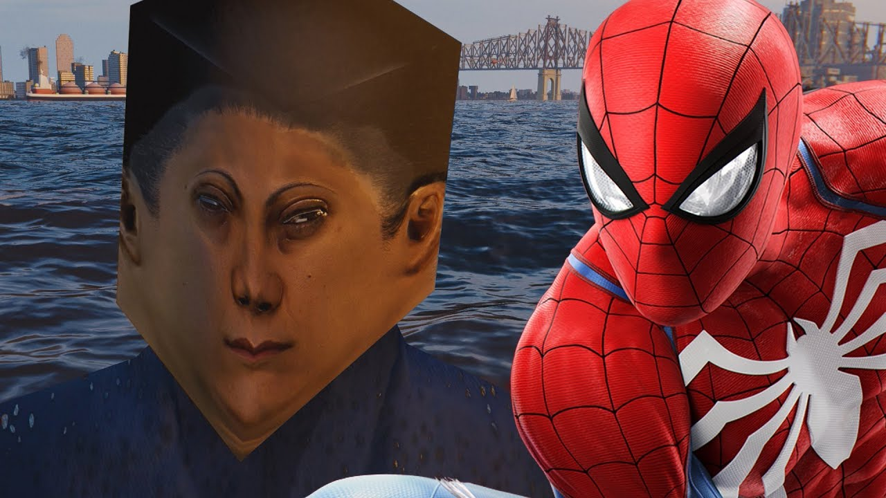 the boat people in spider-man ps4 are the stuff of nightmares - youtube