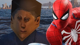 The Boat People In Spider-Man PS4 Are The Stuff of Nightmares