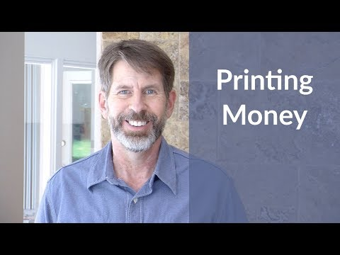 How the Federal Reserve and Banks Print Money
