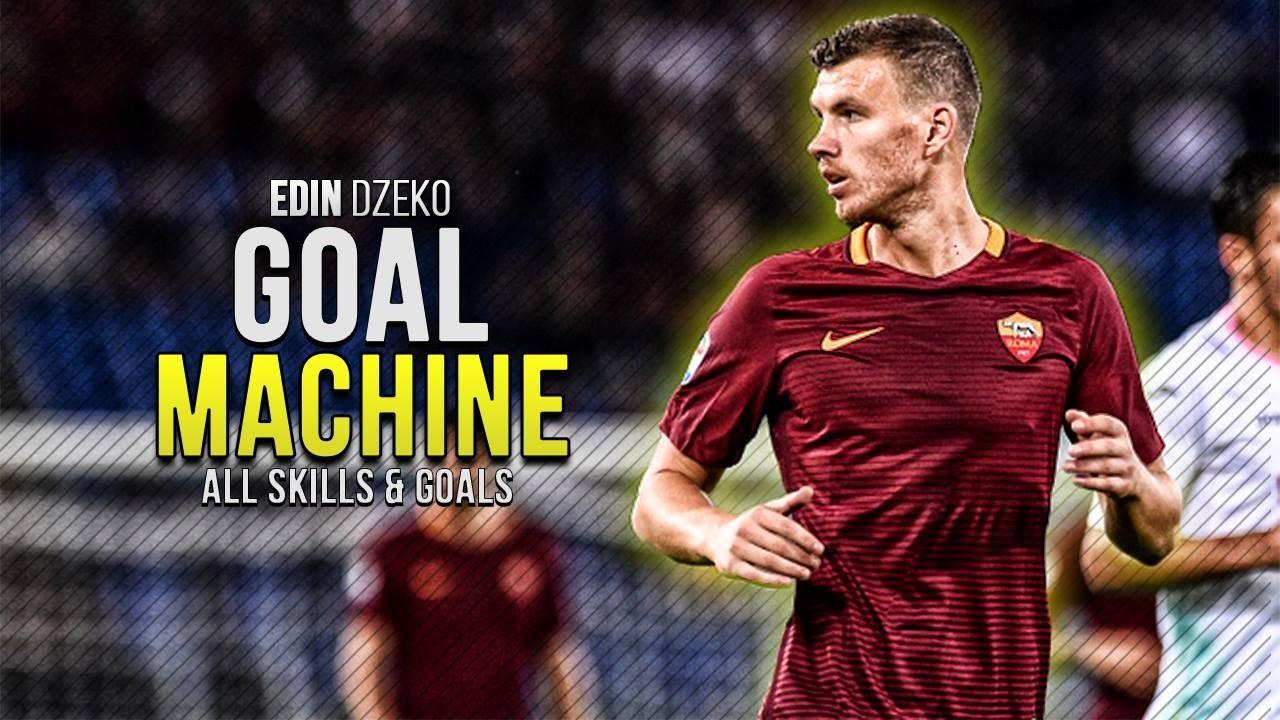 Edin Dzeko Goal Machine All Goals & Skills 2016 2017 HD