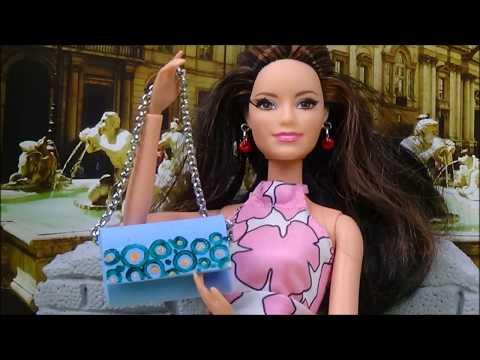 Diy Barbie purse tutorial │ Doll handbag diy │ DIY For Dolls