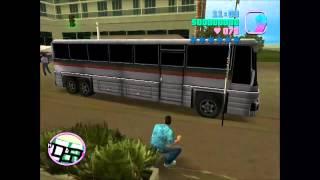 Kuzey Güney Otobüs Sahnesi - Gta Vice City ( Sansürlü )