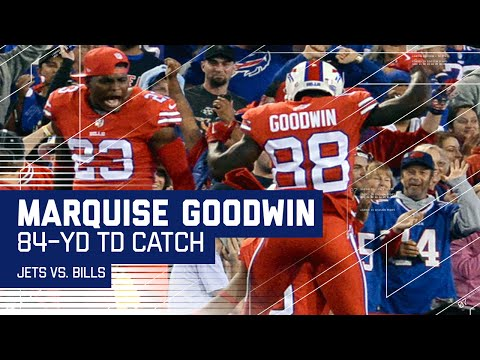 Marquise Goodwin Burns Darrelle Revis for 84-Yard TD! | Jets vs. Bills | NFL