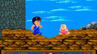 Jackie Chan´s Action Kung Fu (PC Engine) Gameplay