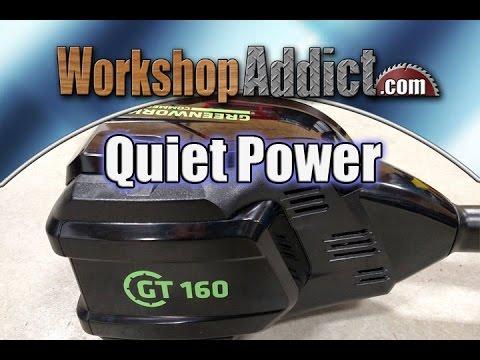 Greenworks GT160 (82 Volt) Lithium Ion Commercial 16