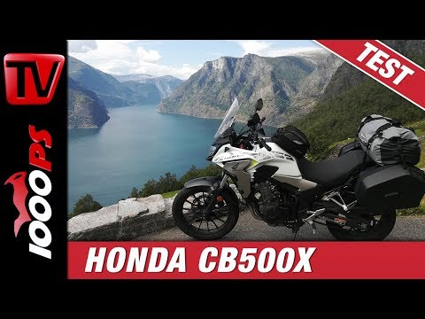 Honda CB500X Langstreckentest in Norwegen