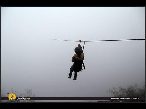 Zipline in Armenia / Sport Extreme - Armenian Geographic