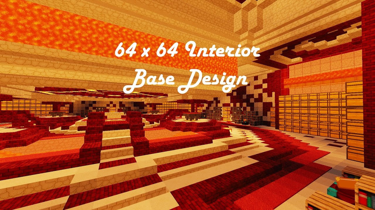 Interior Design For Your Base Minecraft