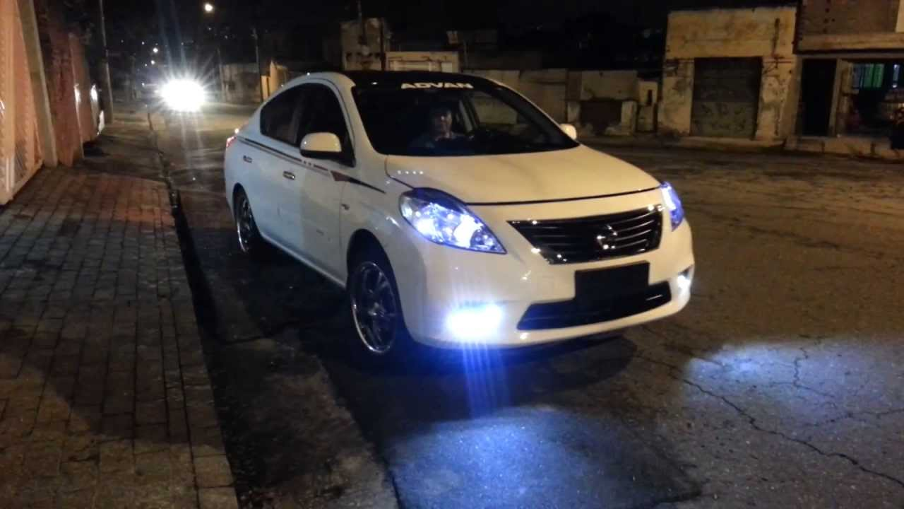 Nissan Versa Drl Dedicado Modelo P Farol De Neblina