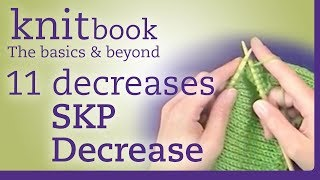 Knitbook: SKP Decrease