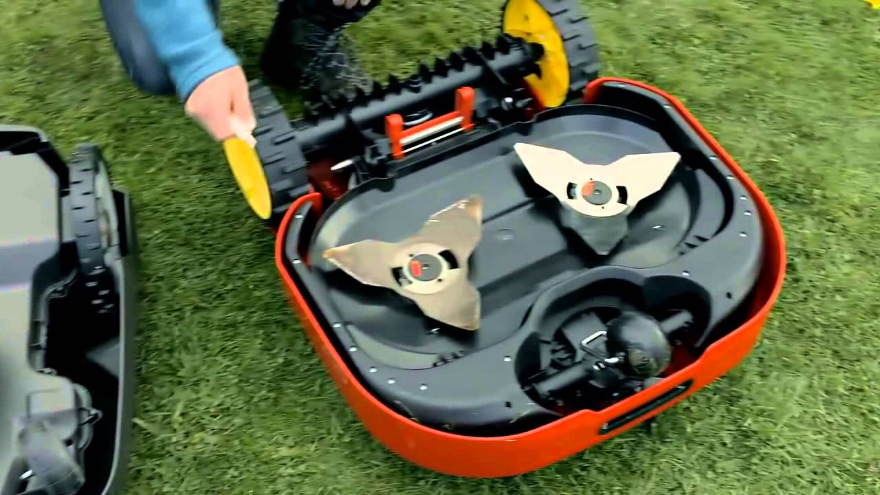 Robot Lawn Mower School And Comparison Test Doovi