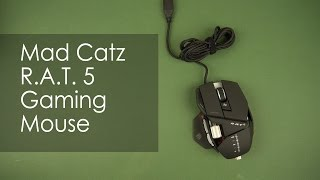 Розпакування Mad Catz R. A. T. 5 Gaming Mouse