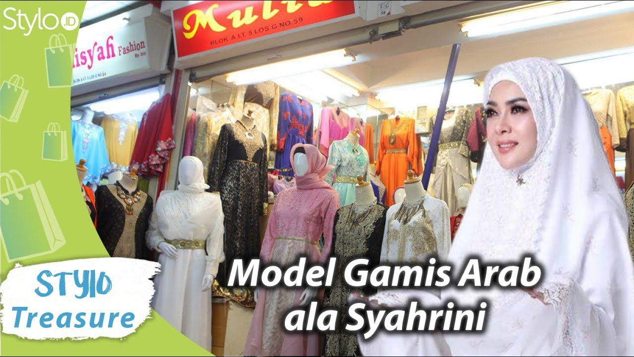 Baju Gamis Hijab Model Terbaru Ala Syahrini Di Tanah Abang Baju