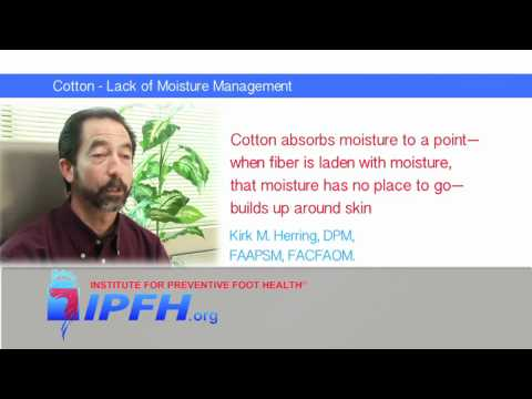 Cotton - Lack of Moisture Management