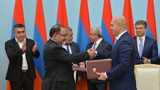 ՀՀԿ ն և ՀՅԴ ն կոալիցիոն նոր համաձայնագիր ստորագրեցին