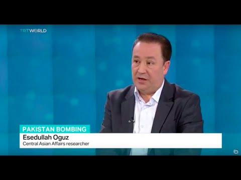 Interview with Esedullah Oguz from Central Asian Affairs on Pakistan suicide attack