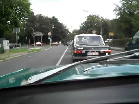 Fahrt mit Audi 60 Super 90. Mitteldrück Treffen 2011