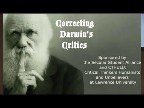 Correcting Darwin's Critics