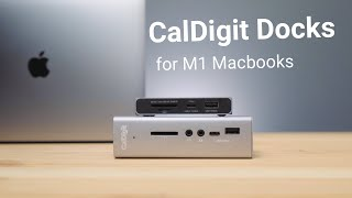 CalDigit SOHO and TS3 Plus Docs for MacBook Pro M1 | USB Hub for MacBook Air M1 and Pro M1