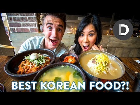 What is: KOREAN Food? 🍜 Korean Food Tour!