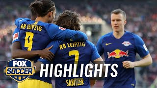 VfB Stuttgart vs. RB Leipzig | 2019 Bundesliga Highlights