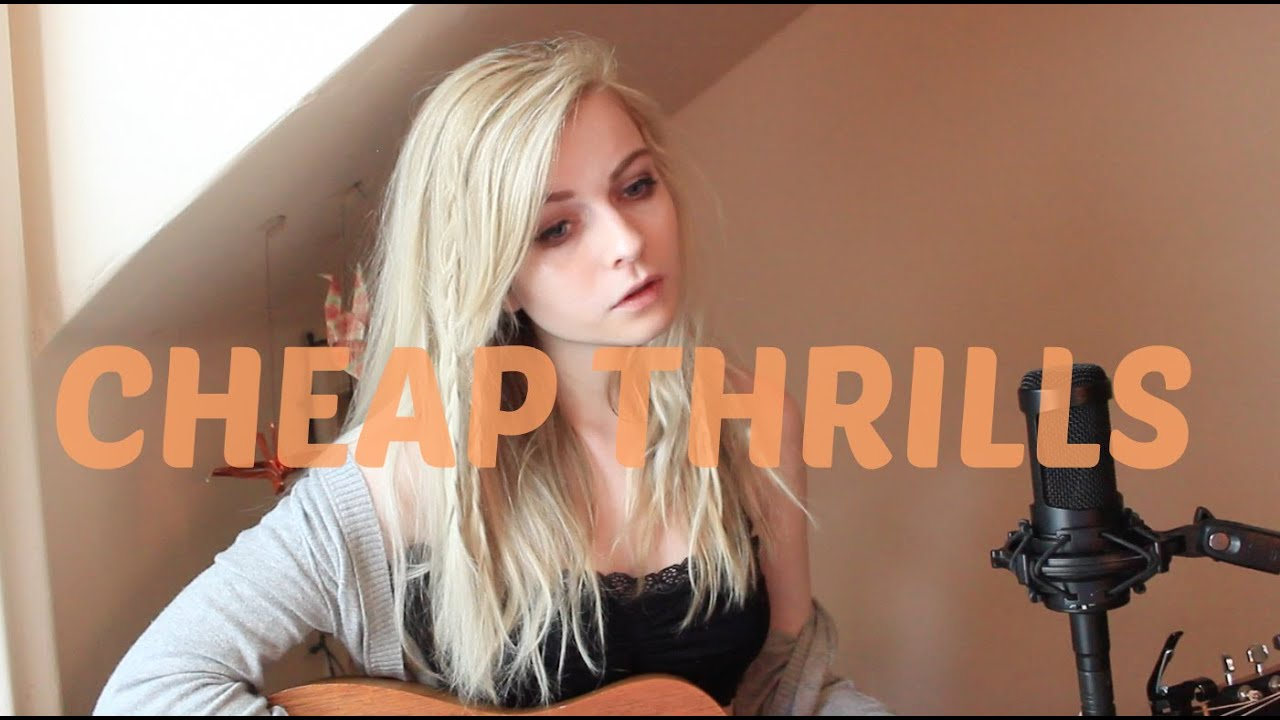 Cheap Thrills - Sia (Holly Henry Cover) - YouTube
