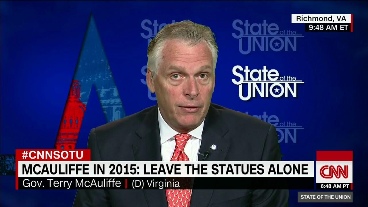 Virginia governor McAuliffe slams Trump's Arpaio pardon