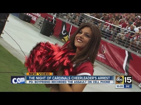 Cardinals' cheerleader arrested after fight