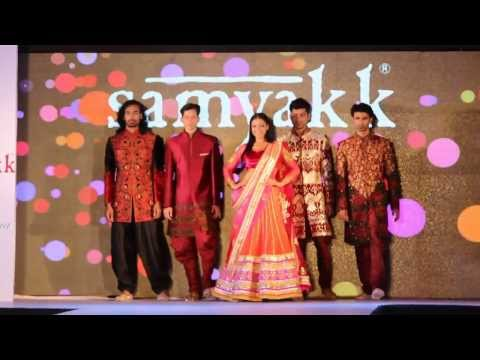 New South Indian Bridal Exhibition-2014-15| Wedding Lehengas| New Ethnic Sherwani Collection-Samyakk