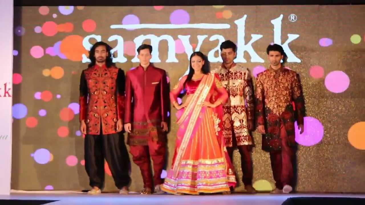 New South Indian Bridal Exhibition 2014 15 Wedding Lehengas New Ethnic Sherwani Collection Samyakk