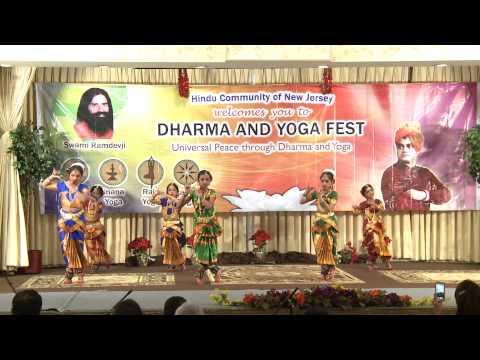 Bhakti Yoga - Siddhendra Kuchipudi Art Academy and Navranjitha performing Arts center
