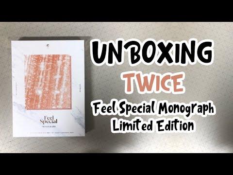 트와이스 Feel Special MONOGRAPH 개봉 후기