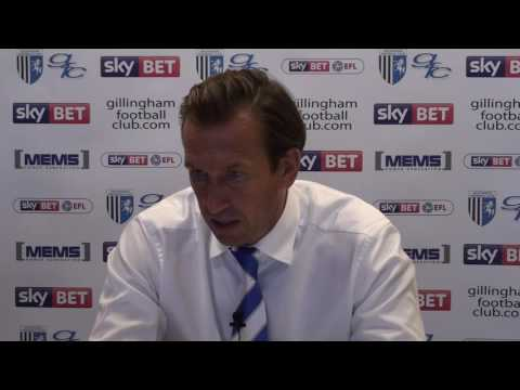 Justin Edinburgh post-Bradford City